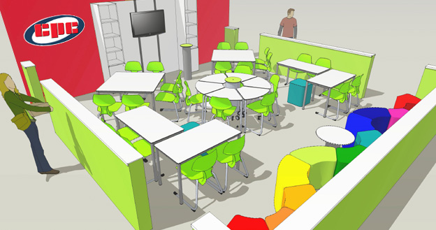 Innovative Classroom Desks ~ Cpc classroom of the future…