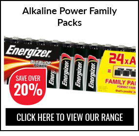 Alkaline Power Family Packs